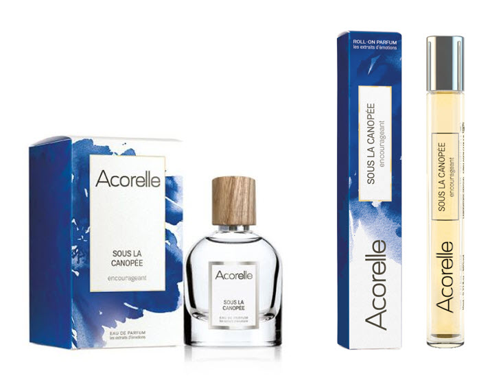 ACORELLE Parfémová voda Sous La Canopée Unisex 50ml + Roll-on 10ml